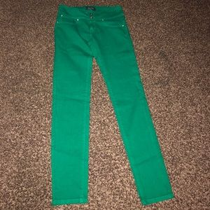 Denim - Green denim size large .. price is firm